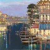 Riviera Twilight Posters by Mario Sanzone