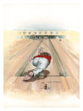 Curve Ball Giclee Print by Gary Patterson