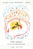 Bullfight, 1982 Samletrykk av Pablo Picasso