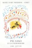 Bullfight, 1982 Sammlerdruck von Pablo Picasso
