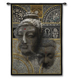 Buddha Essence Wall Tapestry
