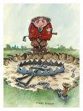 The Trap Giclee Print by Gary Patterson