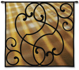 Sunlit Scroll Wall Tapestry