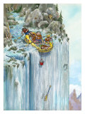 Back Paddle Giclee Print by Gary Patterson