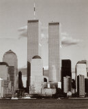 World Trade Center and Financial Center Poster von Walter Gritsik