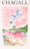 Pink Opera-Opera Rose Reproduction pour collectionneur par Marc Chagall