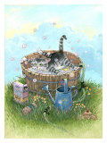 Bath Time Giclee Print by Gary Patterson