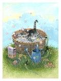 Bath Time Giclee Print by Gary Patterson