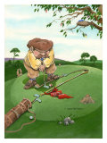 Lining Up Giclee Print by Gary Patterson