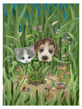 Backyard Explorers Giclee Print by Gary Patterson