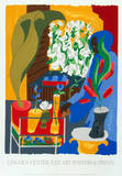 Supermarket - Flora 1996 Serigraph by Jacob Lawrence