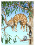 Another Day, Another Nap Giclee Print by Gary Patterson