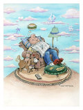 Dad's Domain Giclee Print by Gary Patterson