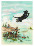 Day at the Lake Reproduction procédé giclée par Gary Patterson