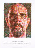 Self Portrait Collectable Print by Chuck Close