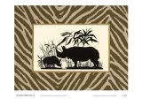 Serengeti Silhouette II Prints by Sarah Elizabeth Chilton