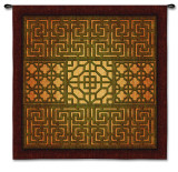 Eastern Lattice Wall Tapestry