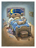 Bed Hogs Giclee Print by Gary Patterson