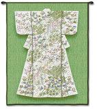 Jade Katabria Kimono Wall Tapestry
