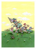 Soccer Mom Giclee Print by Gary Patterson