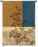 Peony Branch I Wall Tapestry by James Nocito