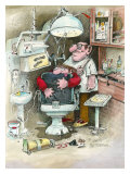 The Dentist Giclee Print by Gary Patterson