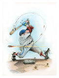 Fast Ball Giclee Print by Gary Patterson