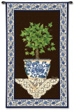Ivy Topiary I Wall Tapestry by Spivey
