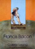 Galerie Lelong Samlertryk af Francis Bacon