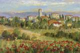 Tuscan Spring I Poster von Michael Longo