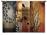 Autumnal Equinox Wall Tapestry by Edward Aparicio