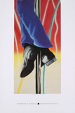 Study for Fire Pole Prints by James Rosenquist