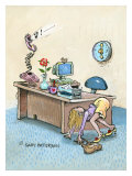 Live for Weekends Giclee Print by Gary Patterson