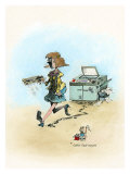 One of Those Days Giclee Print by Gary Patterson