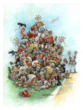 Touchdown Giclee Print by Gary Patterson
