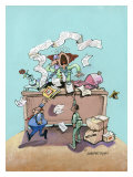 T.G.I.F. Giclee Print by Gary Patterson