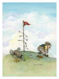 It&#39;s Only A Game Giclee Print by Gary Patterson
