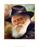 Rebbe Affiches par Lev Sheitman