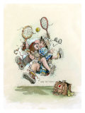 Mixed Doubles Giclee Print by Gary Patterson