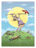 Hole In One Giclee Print by Gary Patterson
