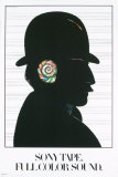 Sony Tape Collectable Print by Milton Glaser