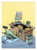 Monday Morning Giclee Print by Gary Patterson