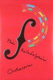 The Philadelphia Orchestra Collectable Print by Milton Glaser