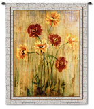 Poppy Serenade Wall Tapestry by Elizabeth Jardine
