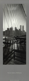 View From Brooklyn Bridge Art by Torsten Hoffmann