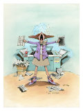 Breakdown Giclee Print by Gary Patterson