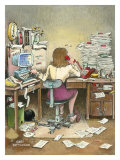 The Secretary Giclee Print by Gary Patterson