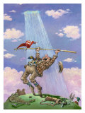 Breaking Par Giclee Print by Gary Patterson