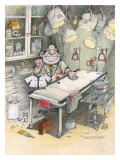 The Doctor Giclee Print by Gary Patterson