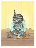 Got Fish Giclee Print by Gary Patterson